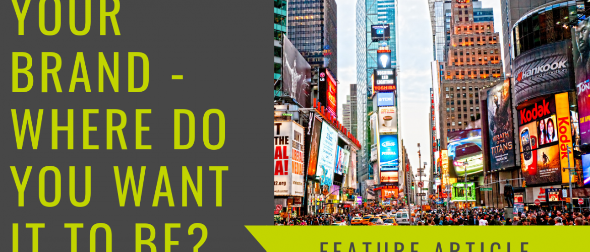 Your brand – Where do you want it to be?
