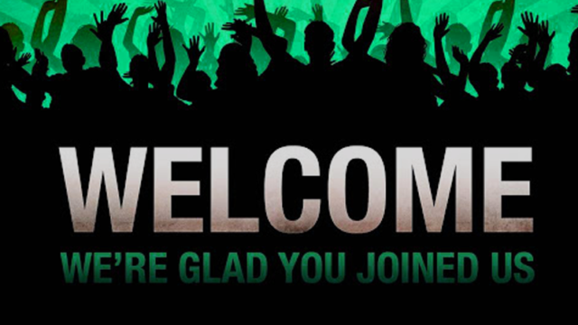 Welcome to new our members