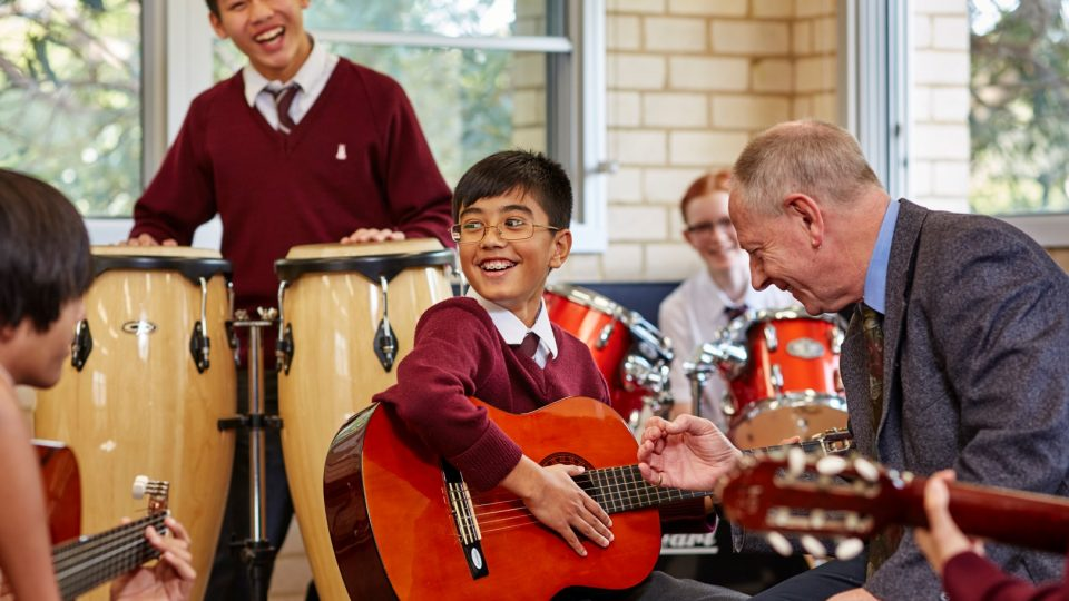Year 7 and 8 Music Performances