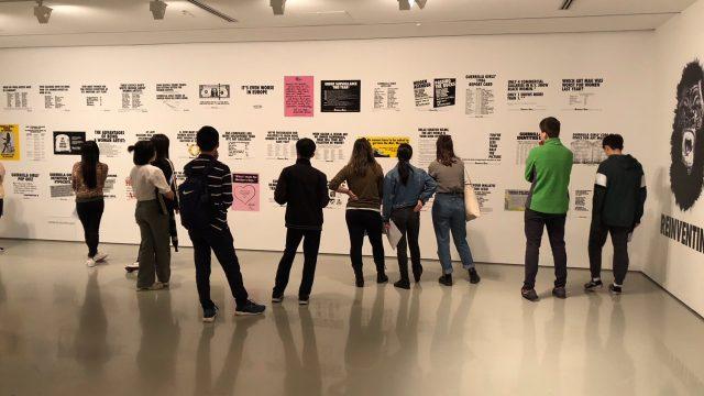 Visual Art students visit Melbourne