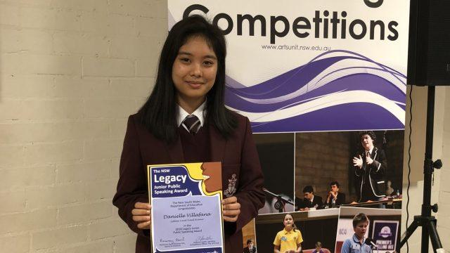 Junior Legacy Public Speaking Competition