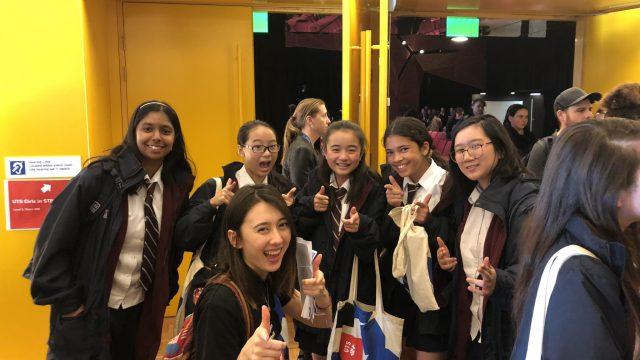 UTS Girls in STEM Excursion