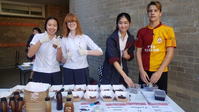 Year 10 Commerce and Business Studies Market Day