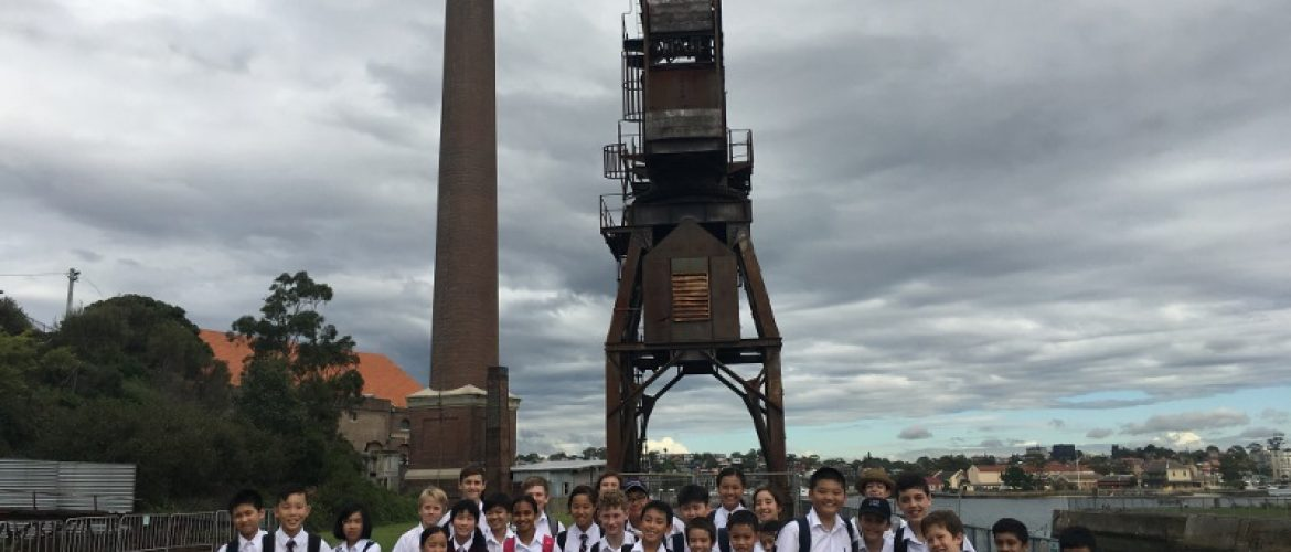 Year 7 History Excursion to Cockatoo Island