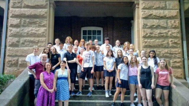 German Exchange school visit