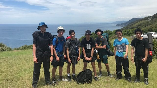 DofE Silver Practice expedition in the Royal National Park