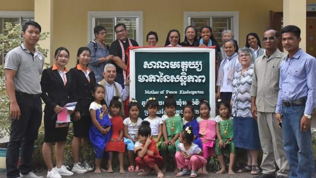 Three new Cambodian classrooms funded