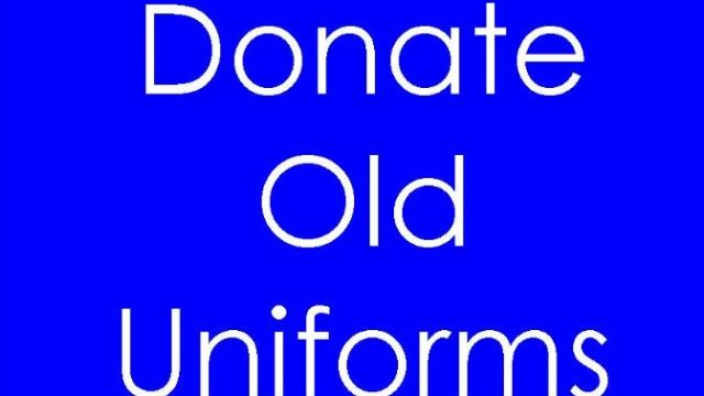 Are you able to donate your outgrown College uniform?