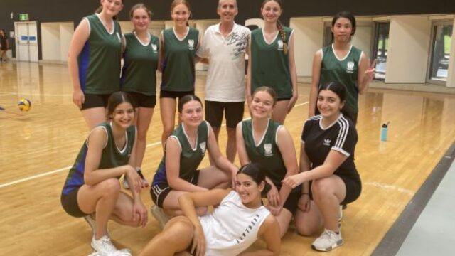 CGSSSA Senior Volleyball team takes top spot in Plate Final