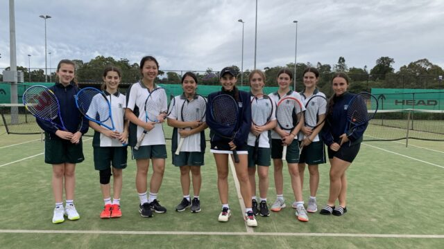 Nine students compete at CGSSSA Tennis Day