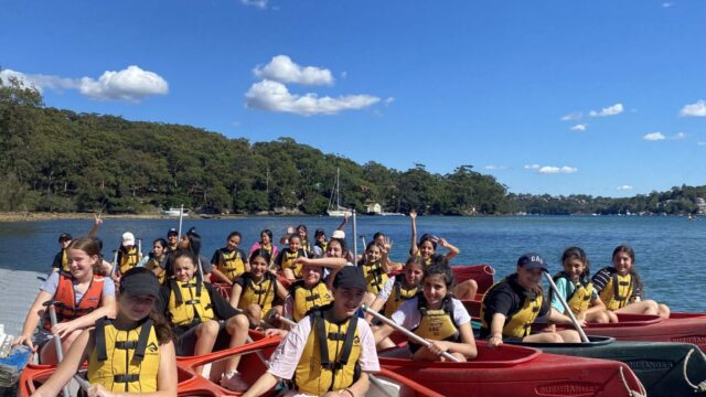 Year 7 enjoy an activity-packed camp