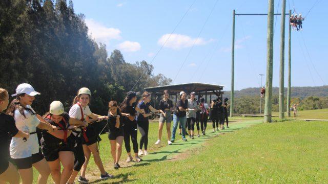Year 9's Great Aussie Bush Camp adventure