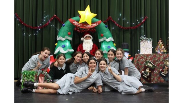 Christmas hampers and Santa photos for those in need