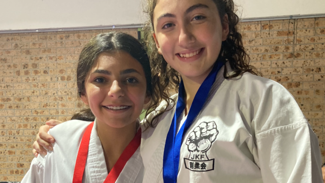 Two students take top spots at Japanese Karate Federation National Tournament