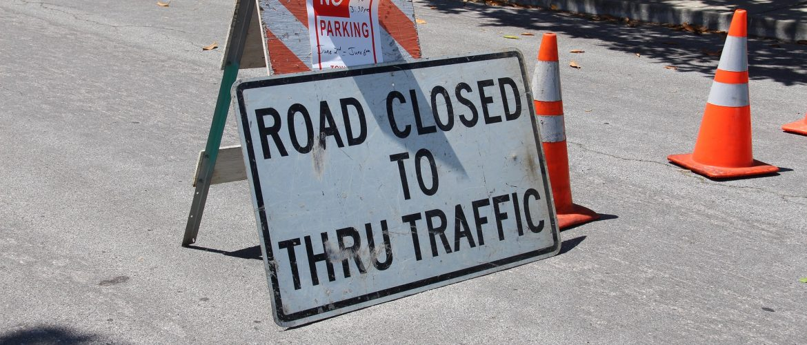 Temporary Road Closures – Clapton Place and Farrell Avenue