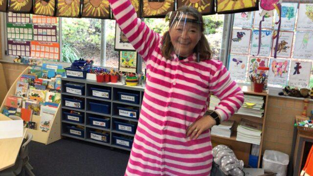 Celebrating Pyjama Day!